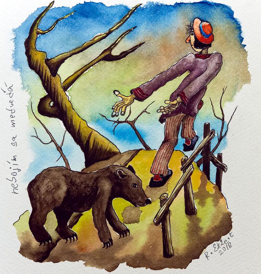 Rastislav Ekkert - Nebojím sa medveďa