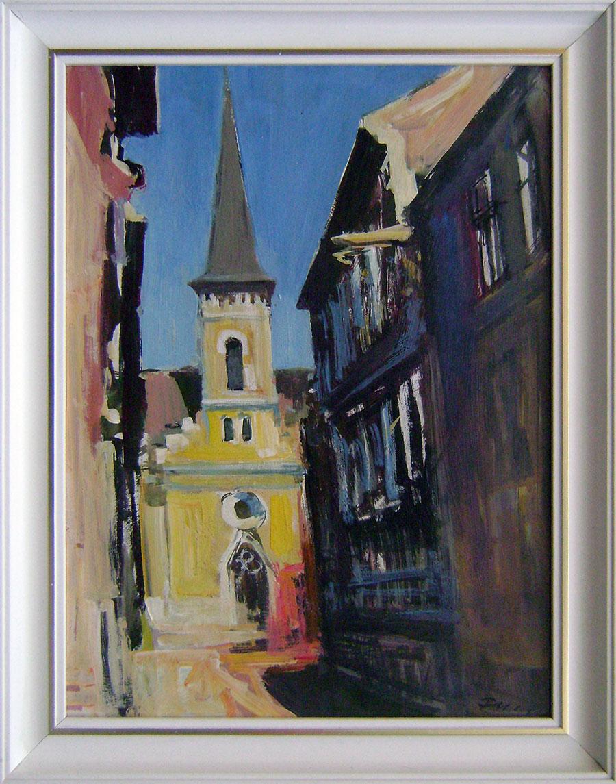 Štefan Filep - Kalvínsky kostol