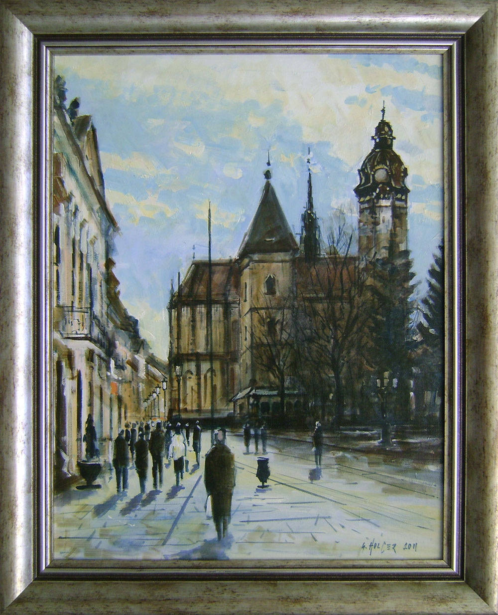 Gabriel Holcer - Zima na Hlavnej