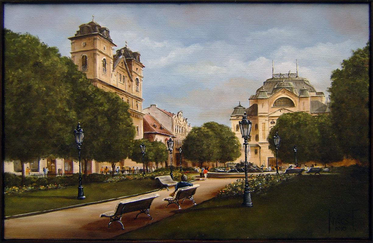 Tibor Kovacs - Park za divadlom