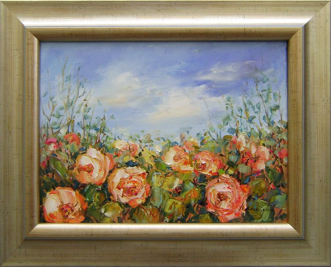 Ester Ksenzsigh - Ružičky čajové kvitnú zas