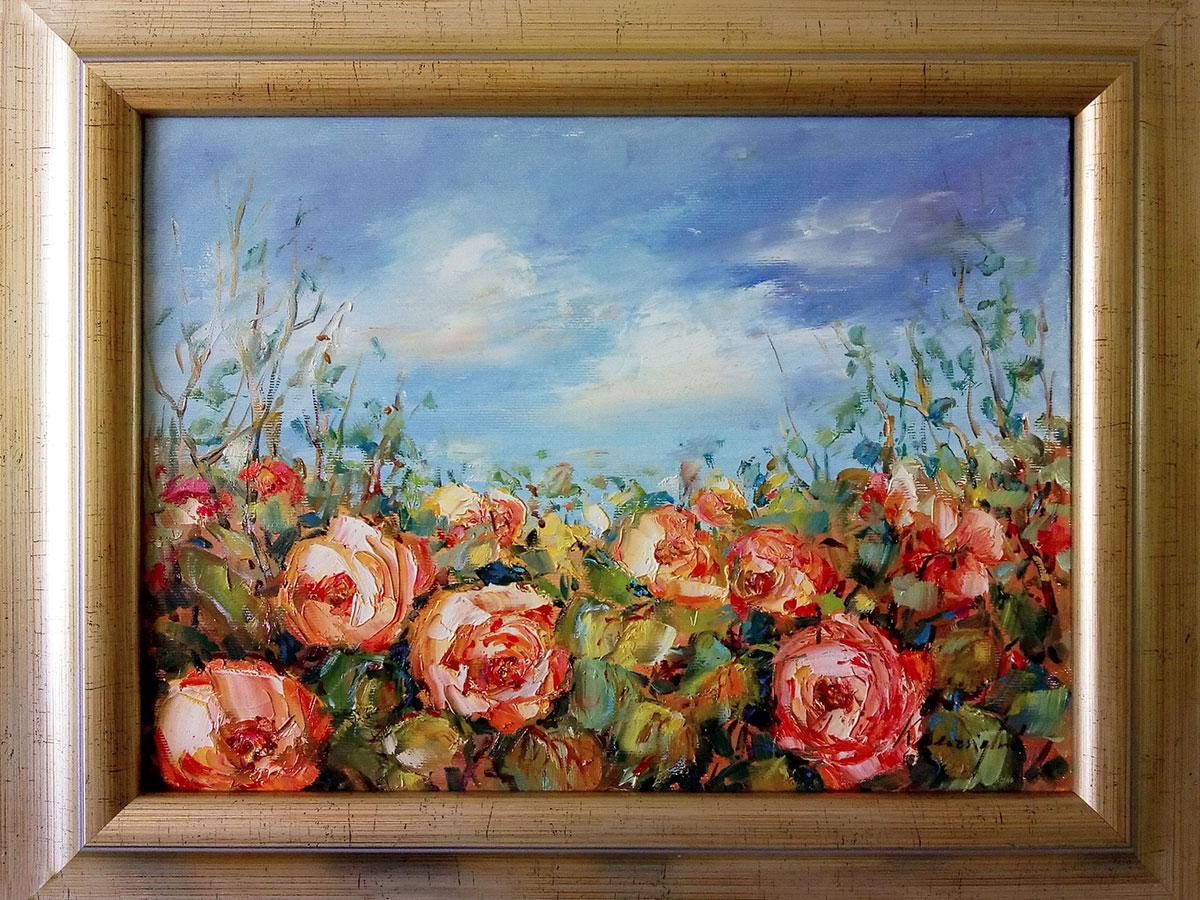 Emília Ksenzsighová - Ružičky čajové kvitnú zas