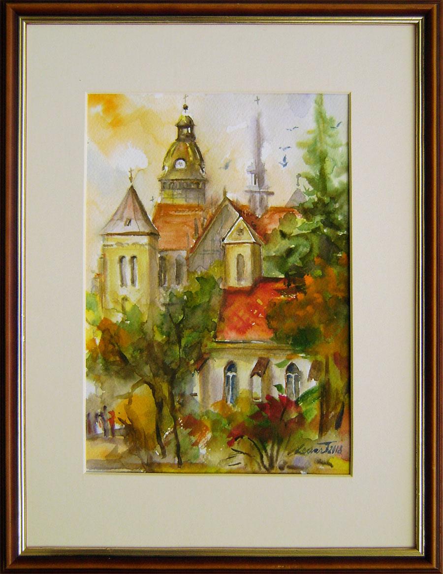 Mária Lenárdová - Dóm s kaplnkou