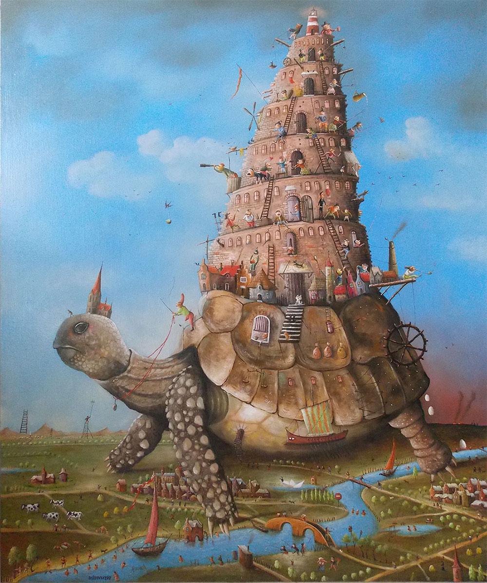 Dmitrij Litovka - Babylónska korytnačka