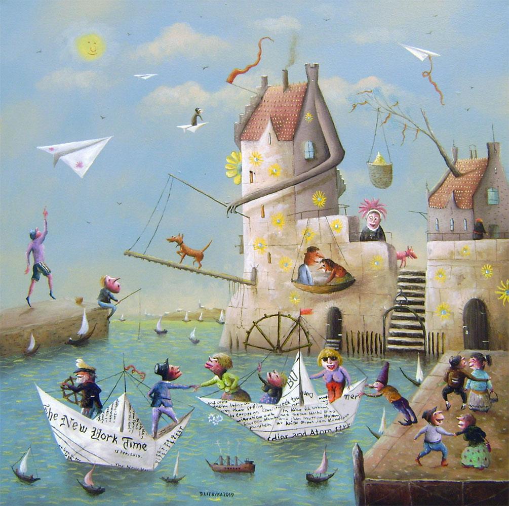 Dmitrij Litovka - Papierové loďky