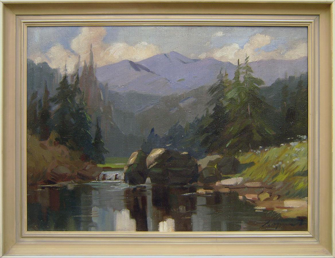 Adalbert Marton - Horský potok