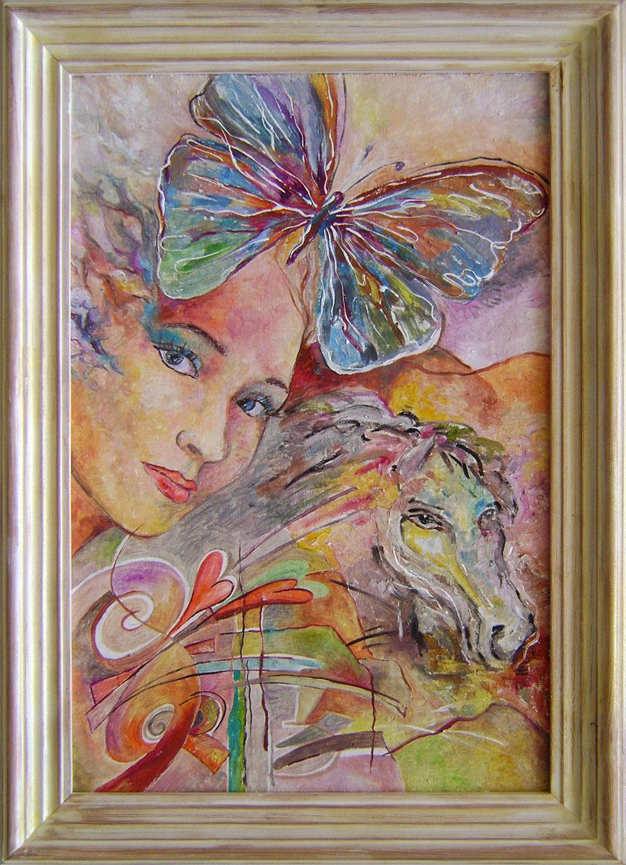 Daniela Petríková - Motýľ vo vlasoch