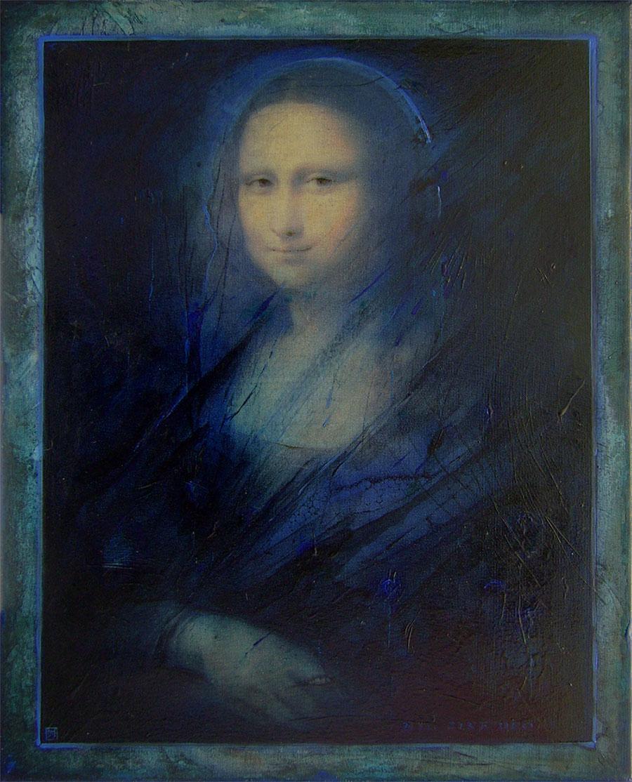 Milan Pučan - Mona Lisa 2