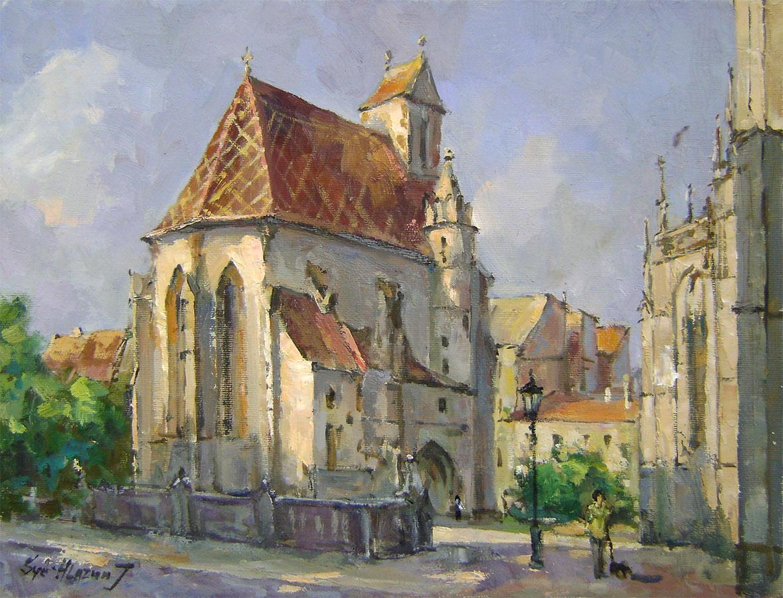 Jurij Syčov - Kaplnka z rána