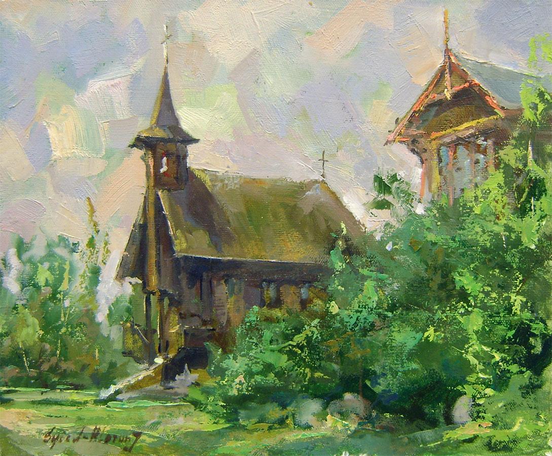 Jurij Syčov - Kostolík v Smokovci
