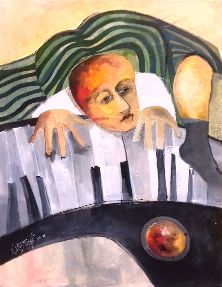 Viera Szabová - Pianista
