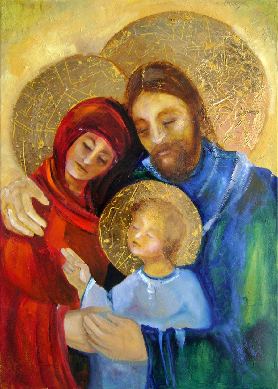 Viera Szabová - Svätá rodina