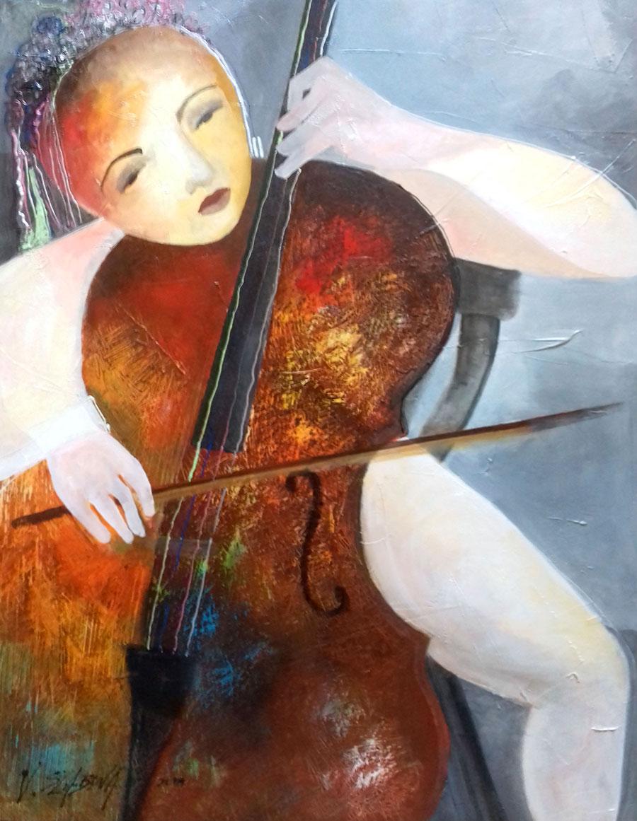 Viera Szabová - Violončelistka