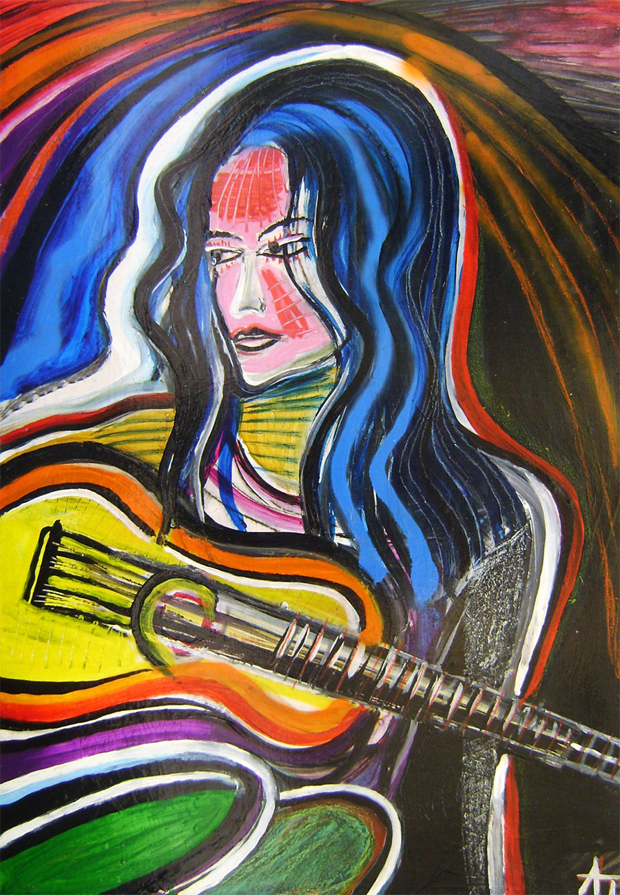 Atila Tverďák - Gitaristka