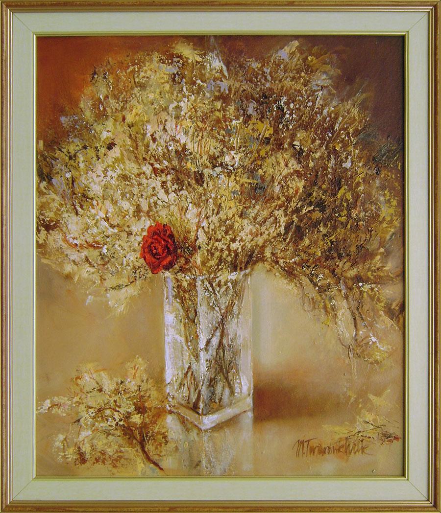 Malgorzata Twardzik-Wilk - Kytica s ružou