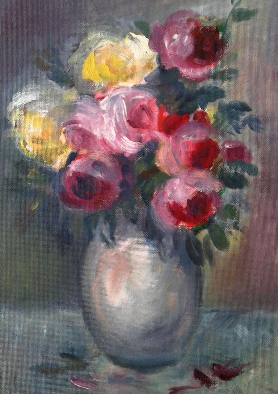 Ružena Velesová - Kytica ruží