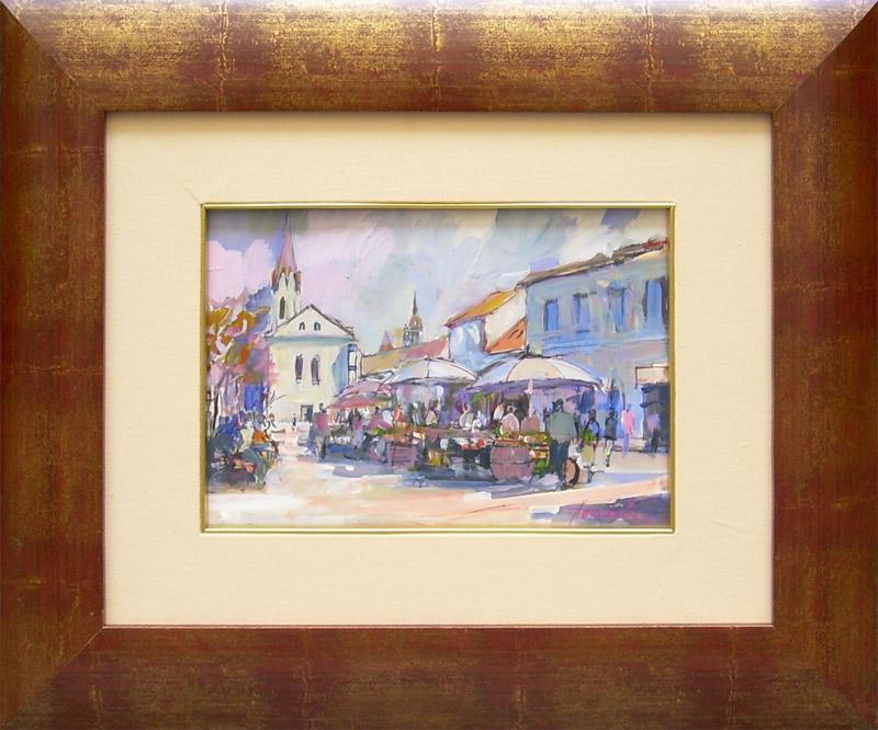 Jozef Kaminský - Trh na Dominikánskom