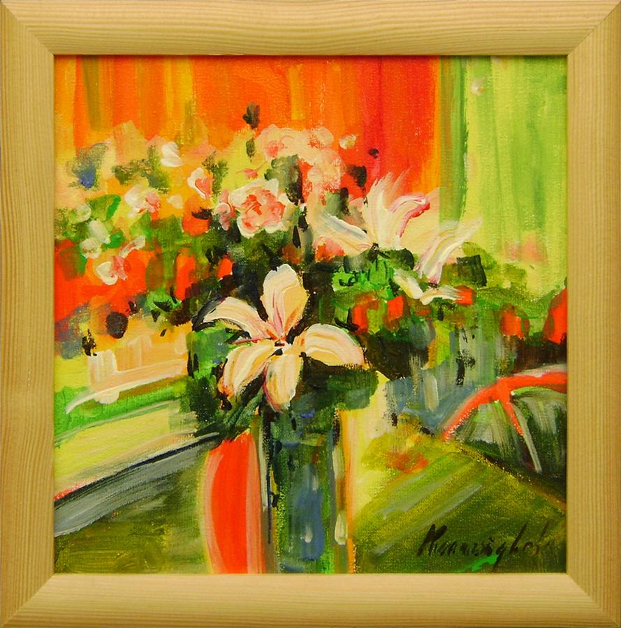 Ester Ksenzsigh - Expresívne kvety