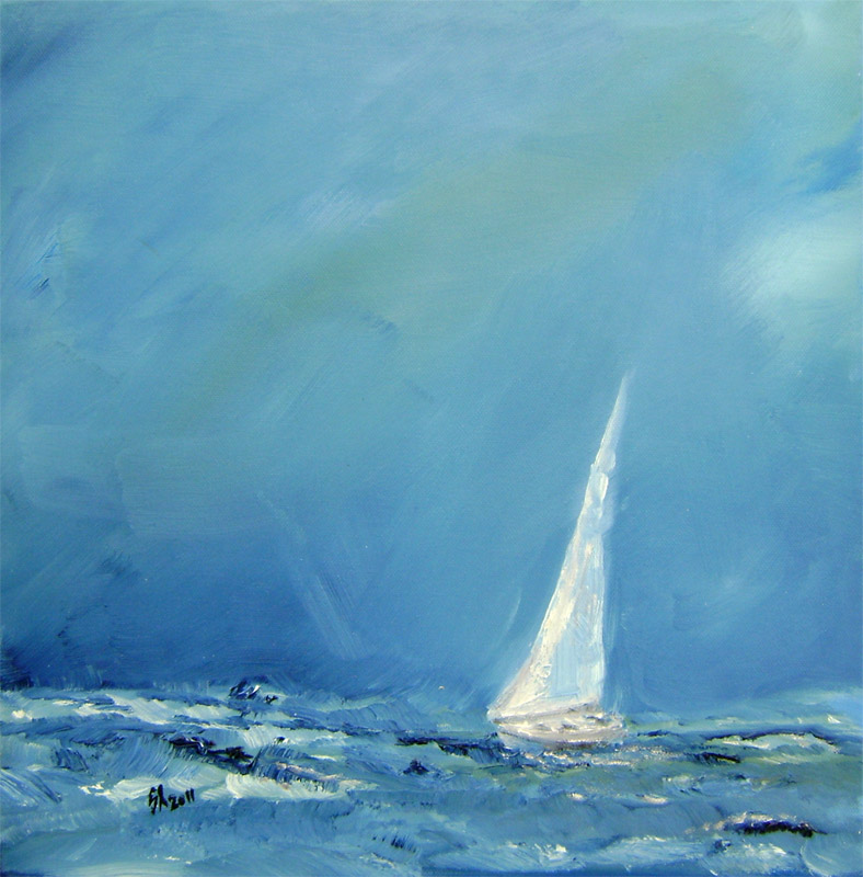 Jozef Sliacky - Oblaky a jachta